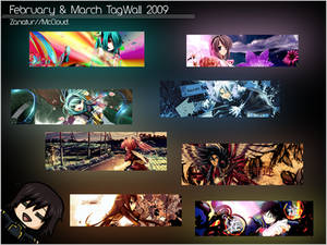 February and March Gfx Tagwall