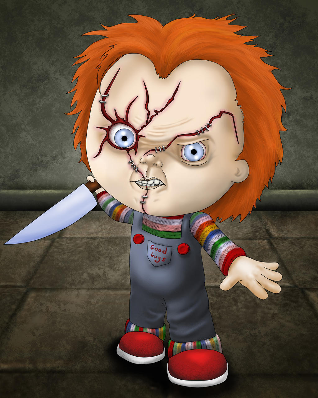 Chucky by Lauramei