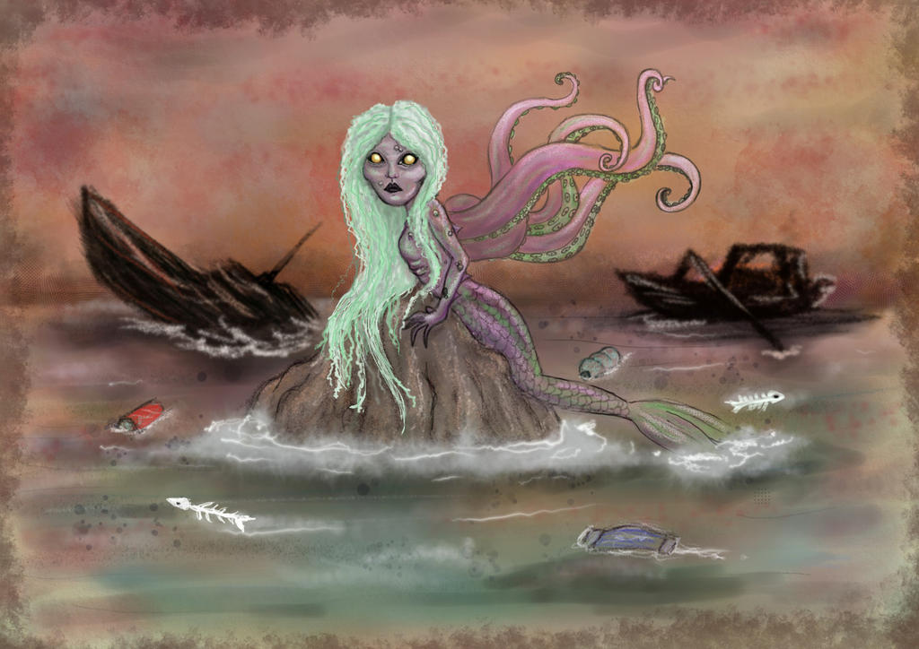 Sirenita mutante by Lauramei