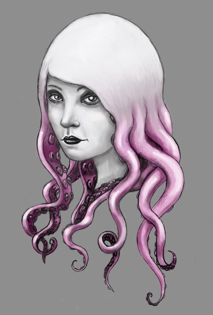 Chica pulpo by Lauramei