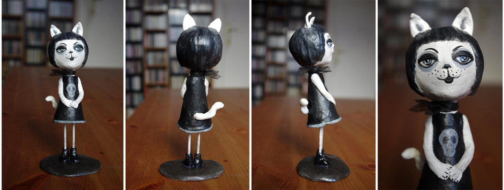 Gotel, the gothic Kitty by Lauramei