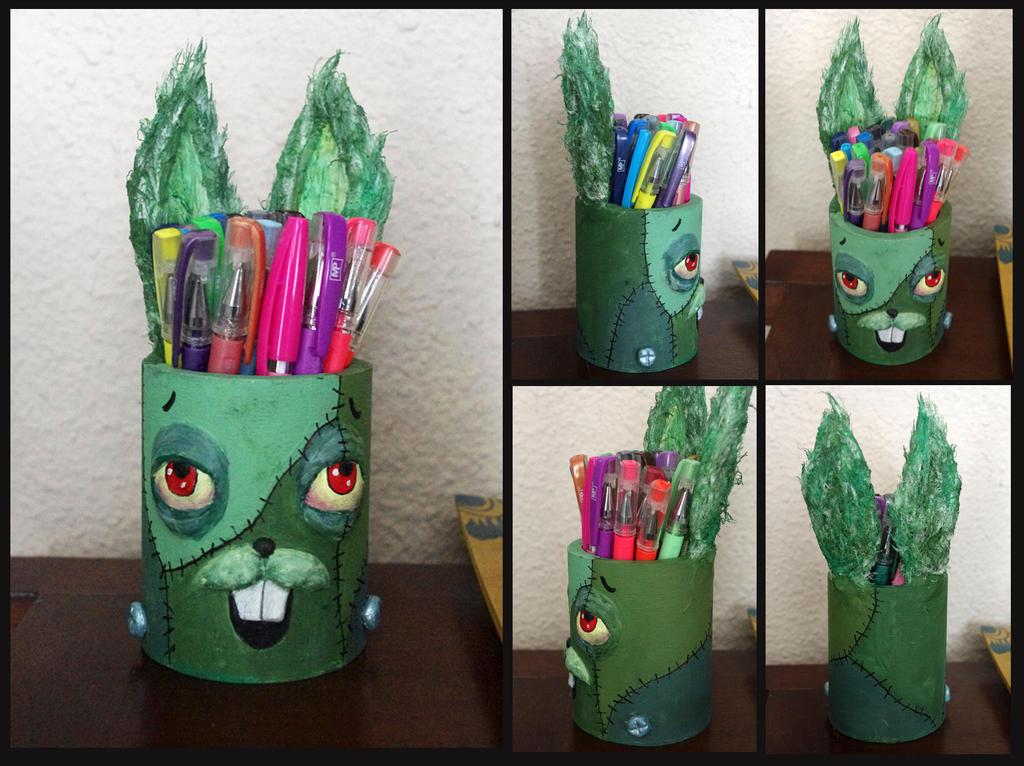 Frankenbunny. Birthday gift. by Lauramei