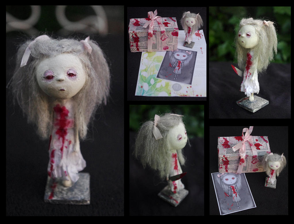 Art Doll: Orchid, the possessed princess by Lauramei