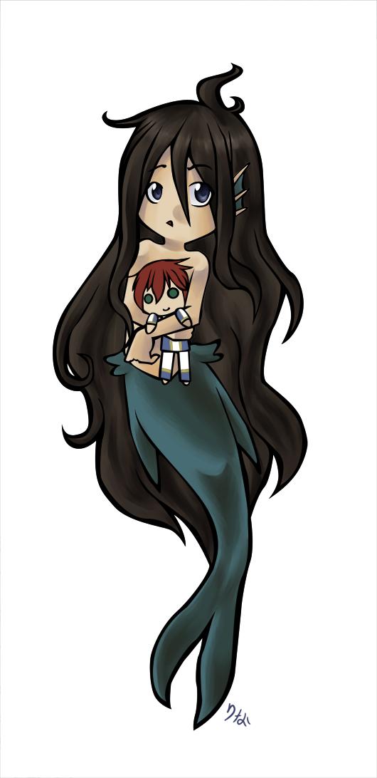Little Merman by preseada