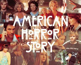 American Horror Story wall by directorschair