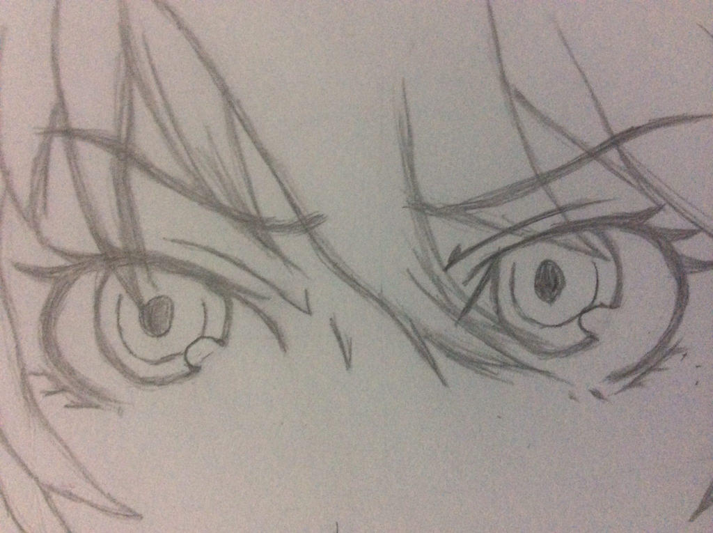 Close up on Labrys eyes. by KaZoMa