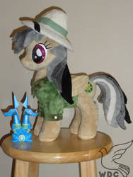 Daring Do, second time around, all in minky