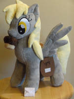 pony with her new magnetic Muffin by WhiteDove-Creations
