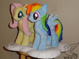 Pegasus Ponies on a Cloud