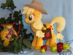 Apple Bucking Time on the Farm