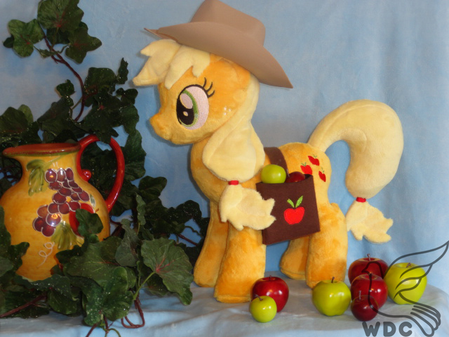 Apple Bucking Time on the Farm by WhiteDove-Creations