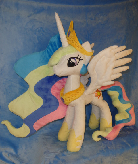 Princess Celestia with new pattern by WhiteDove-Creations