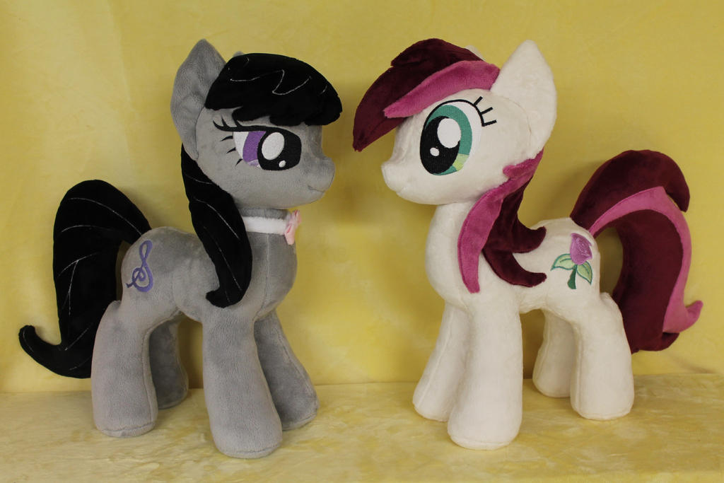 Octavia and RoseLuck by WhiteDove-Creations