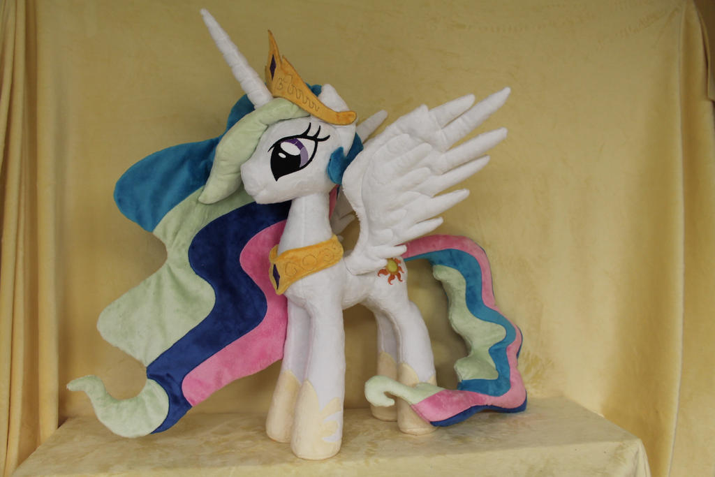 Celestia for Bronycon by WhiteDove-Creations