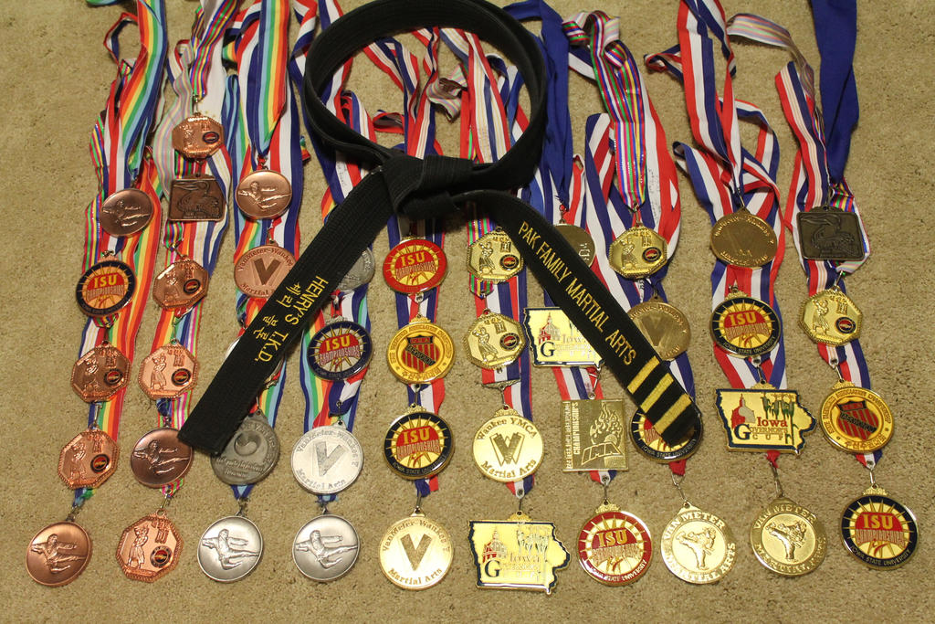 tournament medals by WhiteDove-Creations