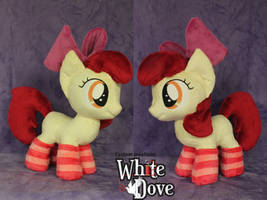 AppleBloom with socks by WhiteDove-Creations