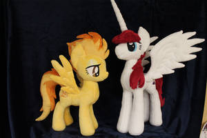 Spitfire and Fausticorn by WhiteDove-Creations