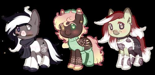 [CLOSED] Pony Adopts I by dakotadarkhooves