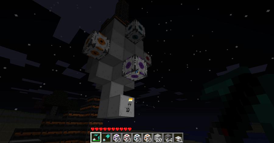 GLaDOS In Minecraft by Rurutielover on DeviantArt