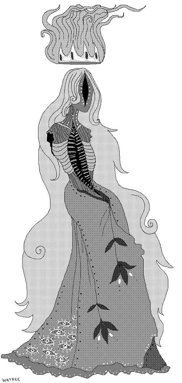 Dead Queen by InkyWings