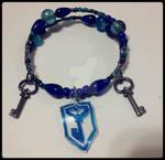 Ingress Resistance Bracelet by Blazespirit