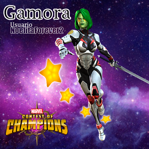 Marvel Gamora by noeramgo