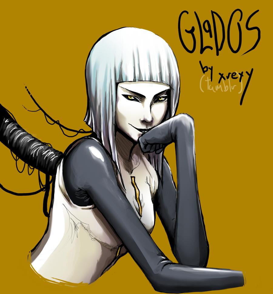 GLaDOS Human by KoKoMango on DeviantArt