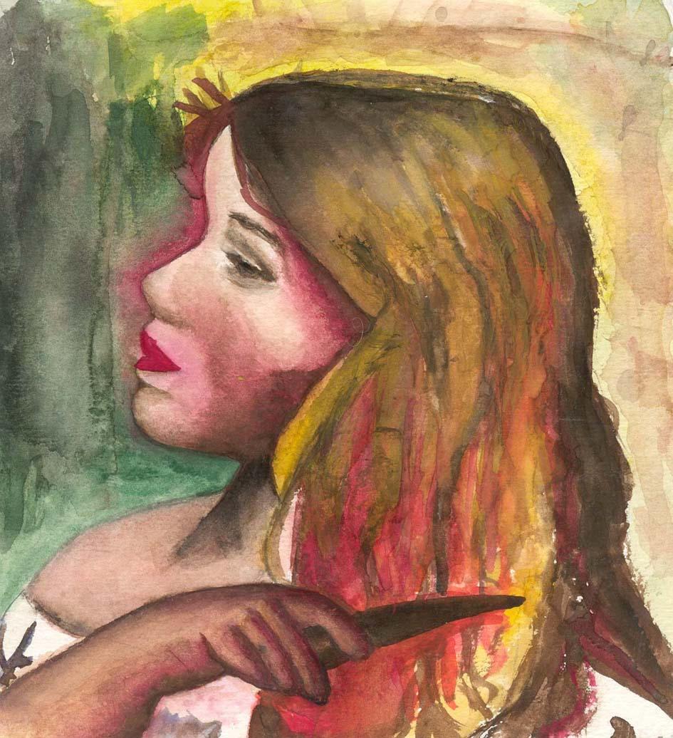 Pretty Blonde by Desert-Angel