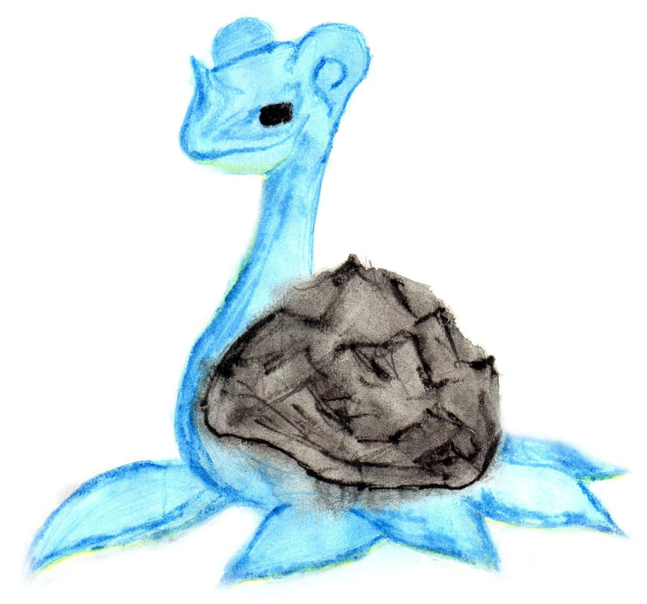 Abstract Dark Lapras by UneQuintessence