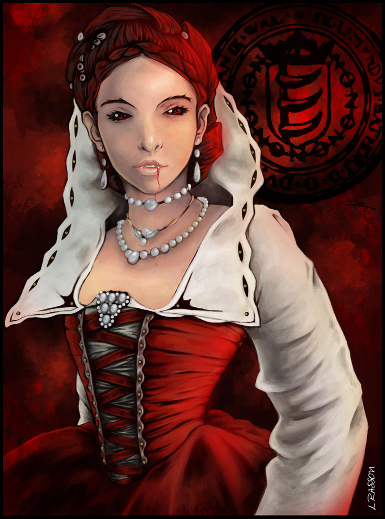 Elizabeth Bathory by MelkabaArts on DeviantArt