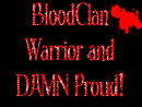 BloodClan Warrior Stamp by Greenpandagirl
