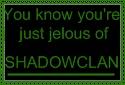 ShadowClan Fan Stamp by Greenpandagirl