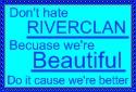 RiverClan Fan Stamp by Greenpandagirl