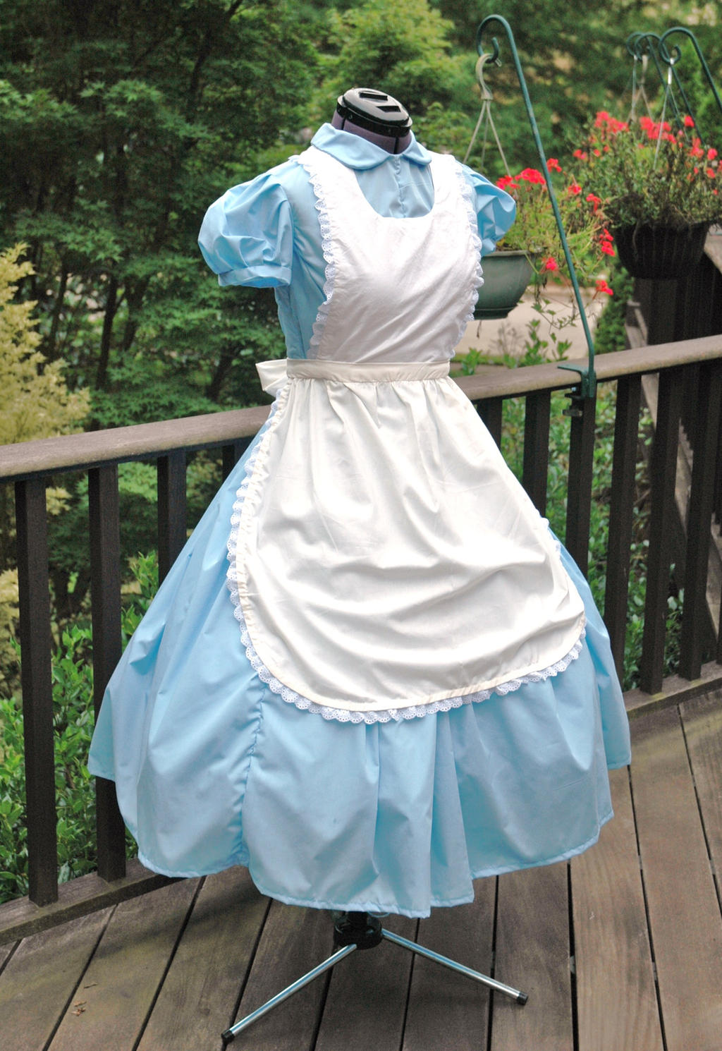 Alice in Wonderland Classic Dress and Pinafore by ...