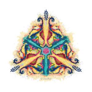 Watercolor fractal
