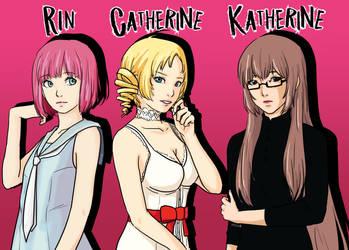 Rin Catherine Katherine by RinSarahMoin29