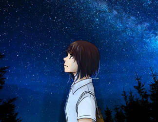 Starry Sky by RinSarahMoin29