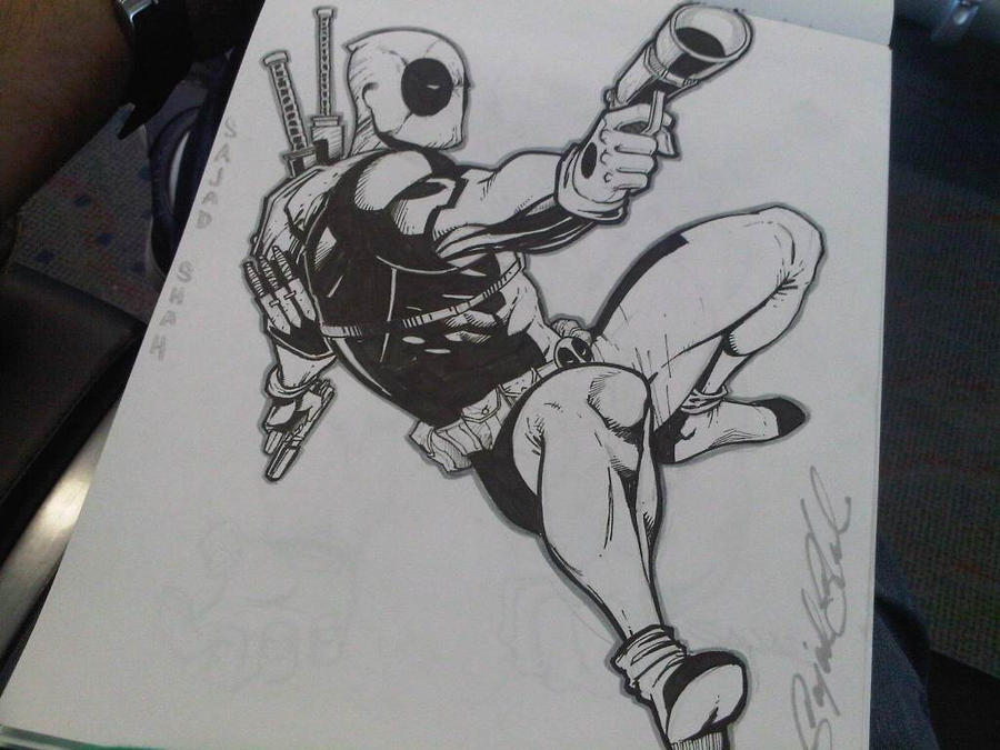 Deadpool by Sajad126