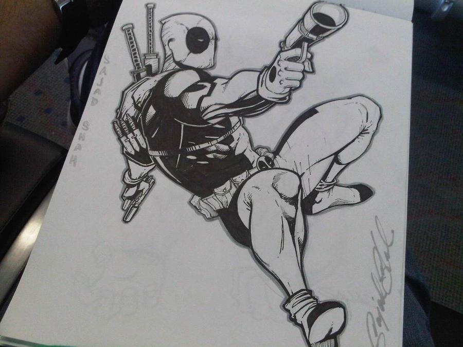 Deadpool by Sajad126