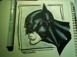 Batman with COPIC