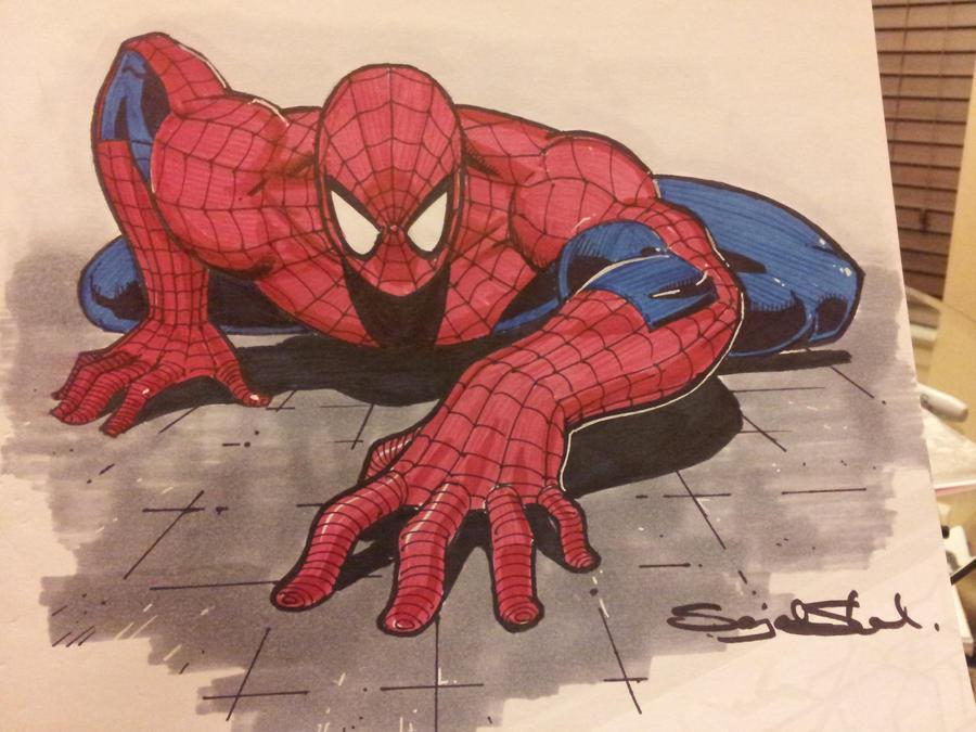 spiderman by Sajad126