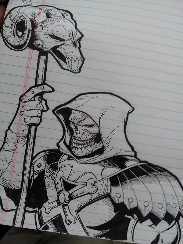 Skeletor by Sajad126