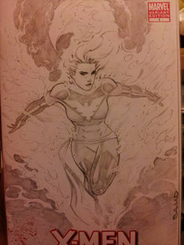 phoenix sketch cover by Sajad126