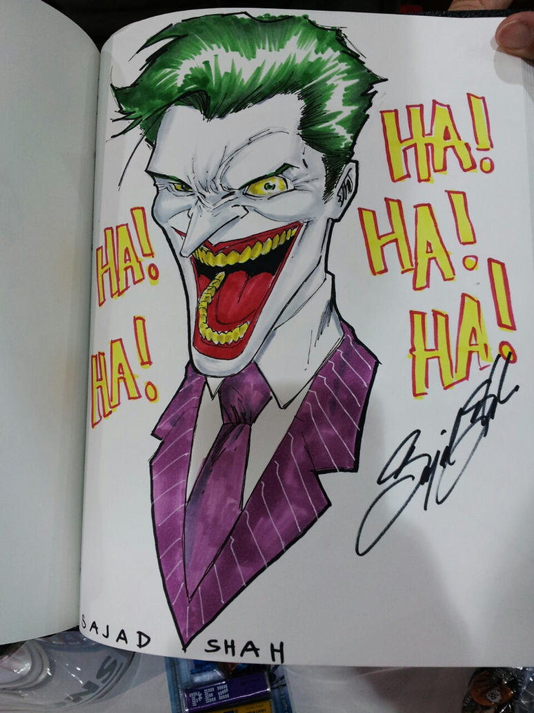joker commission ohiocon heroes initiative by Sajad126