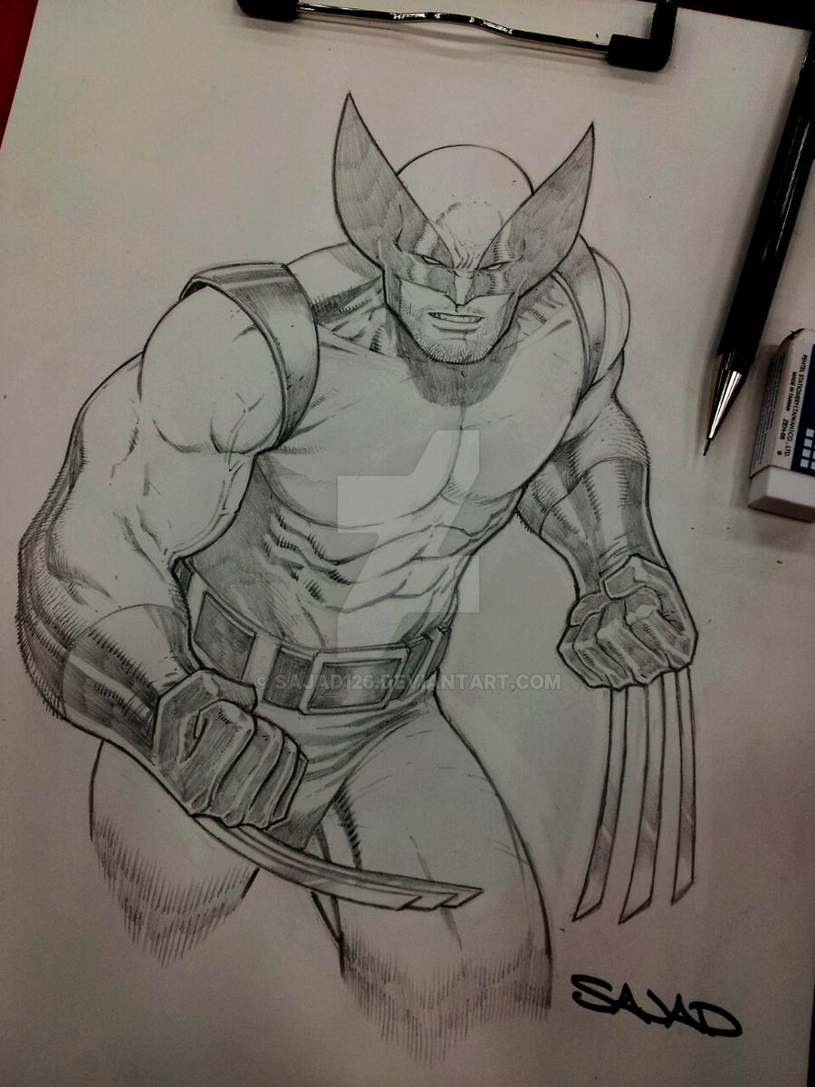 wolverine commission WW austin by Sajad126