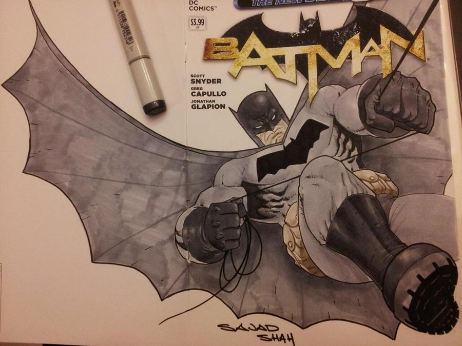 dark knight returns batman by Sajad126