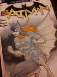 batgirl sketch cover