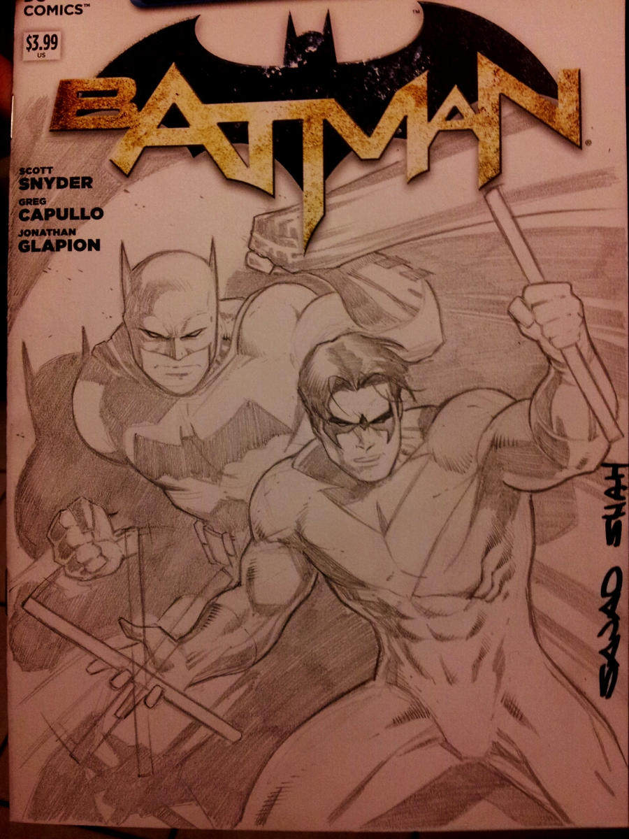 all star batman and robin commission recreation by Sajad126