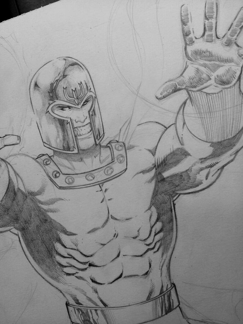 magneto print wip by Sajad126