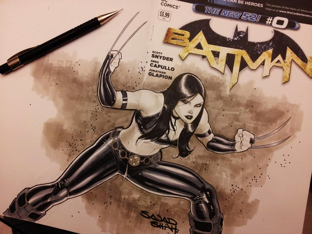 X23 using copic markers by Sajad126